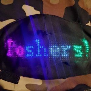 Programmable L.E.D Face Mask